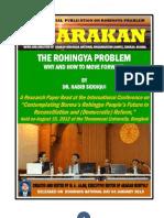 ARAKAN the Rohingya Problem Red