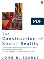 Construction of Social Reality