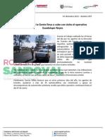 03-01-13 Boletin 1097 El Gobierno de la Gente lleva a cabo con éxito el operativo Guadalupe-Reyes