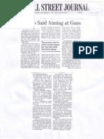 Cuomo Said Aiming at Guns