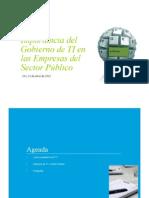 02Importancia Del Gobierno de Las Tecnologias de Informacion en Entidades Del Serctor Publico Costarricense-Deloitte-Por Diana Cogollo