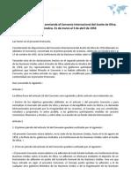 Protocolo por el que se enmienda el Convenio Internacional del Aceite de Oliva, 1956. Ginebra, 31 de marzo al 3 de abril de 1958