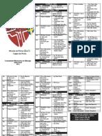Programa Missão de Férias GimVi 2013 - Lagoa da Prata/MG