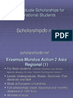 Undergraduate Scholarships for International Students With Links