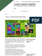 Windows 8 50 dicas, truques e segredos _ Notícias _ TechRadar