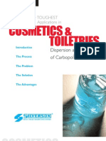 cosmetics and toiletries