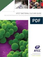 ATCC Bacterial Culture Guide