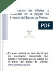 Billetes y Monedas Banxico