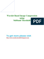 Wavelet Based Image Compression ABSTRACT