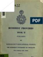 Buddhist Proverbs for Starters