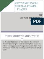 THERMODYNAMIC CYCLES