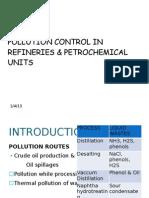 POLLUTION CONTROL IN REFINERIES