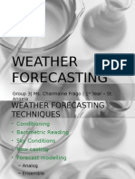 Weather Forecasting Report