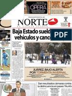 Periodico Norte de Ciudad Juárez 4 de Enero de 2013