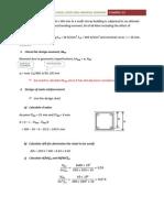 Example 3.9 - Design of Short Column Subjected to Uniaxial Bending