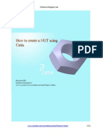 How to Create a NUT Using CATIA