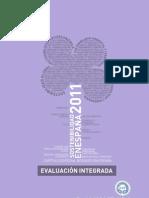 Evaluacion Integrada 2011