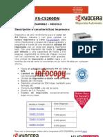 Toner para impresora Kyocera FS-C5200DN