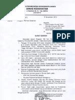 Surat Edaran Kartu Jakarta Sehat