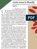 Emanuele Severino sull'attualità di Giambattista Vico - Corriere Della Sera 04.01.2013