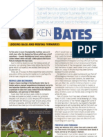 Ken Bates Programme Notes Leeds United vs Bolton Wanderers 1.1.13 P1