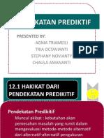 pendekatan prediktif teori akuntansi