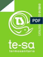 Te-sa Catalogo Tecnico 2010