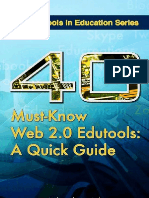 40 Must-know Web 2 0 Edutools   Twitter   Microblogging