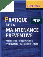 Pratique de La Maintenance-Dunod