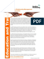 02 Training Prospectus Supplier Relationship (
