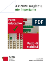 Fascicolo Flc Cgil Iscrizioni Anno Scolastico 2013 2014 Dicembre 2012