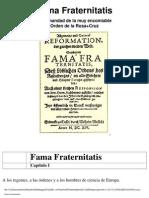 Rosacruz - Fama Fraternitatis