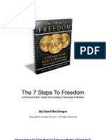 The 7 Steps to Freedom -By David MacGregor
