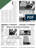 Versión impresa del periódico El mexiquense 4 enero 2013