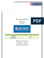 HDFC Bank - Assignment