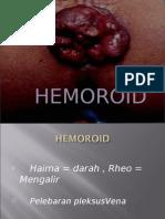 ppt hemoroid