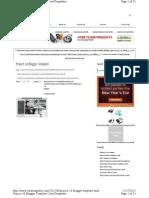 blogger template info shortcuts
