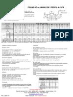 Catálogo de polias