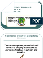 Core Competency Standards
