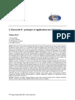 reglementation  eurocode2 ( beton armé)