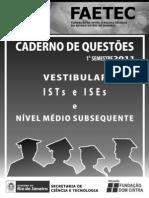 Prova-FAETEC-2010-2011-Técnico-Subsequente
