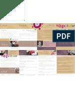 YogaKinder Broschüre