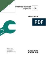 Volvo Penta MD6A, MD7A Workshop Manual