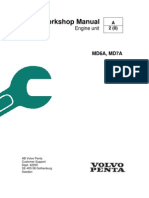 Volvo Penta MD6A, MD7A Workshop Manual