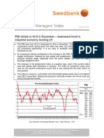 Purchasing Managers´ Index, January 2, 2013