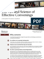 The Art and Science of Effective Convenings