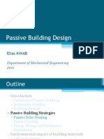 passive building design