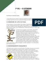 Crónica Nº 91 - O  STRESS