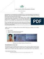 Fact-finding Report, Shooting Incident in Kumarkhali of Kushtia by RAB members on 12 September 2012