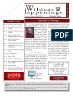 FMRHS Newsletter Jan 2013